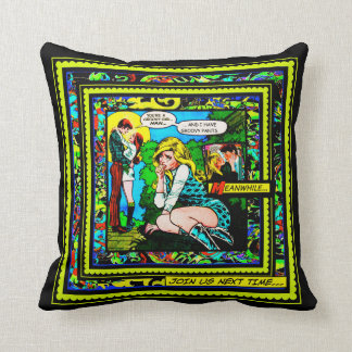 Groovy Pants Throw Pillow