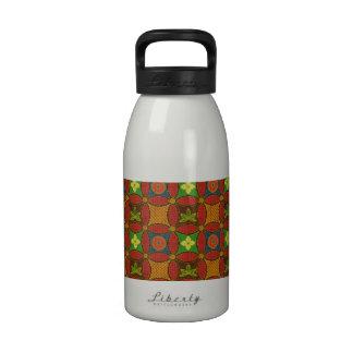 Groovy Pattern Drinking Bottle