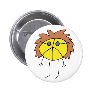 Groovy Peace Dude in Yellow 2 Inch Round Button