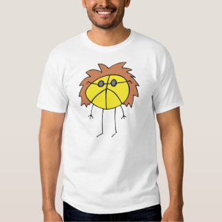 Groovy Peace Dude in Yellow T-shirt