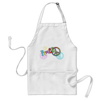 Groovy Peace Gift Adult Apron