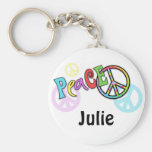 Groovy Peace Gift Key Chains