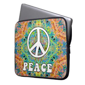 Groovy Peace Laptop Sleeve