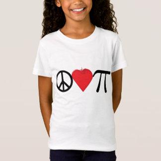 Groovy Peace Love Pi Symbols T-Shirt