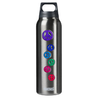 -  Groovy peace signs SIGG Thermo 0.5L Insulated Bottle