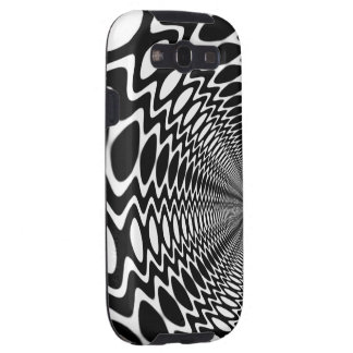 Groovy Peace Soundwaves BW Ver.2. Galaxy S3 Case