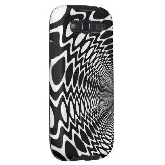 Groovy Peace Soundwaves BW Ver.2. Galaxy S3 Case