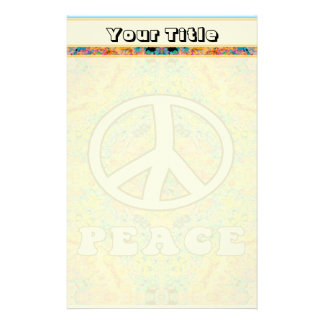 Groovy Peace Stationery