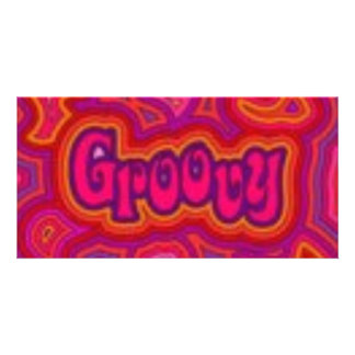 GROOVY PICTURE CARD