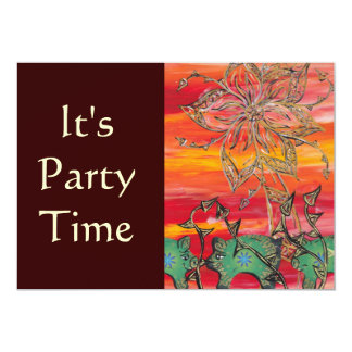 Groovy Pigs Party Invitations