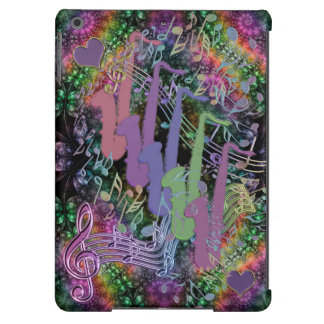 Groovy Psychedelic Saxophones iPad Air Case