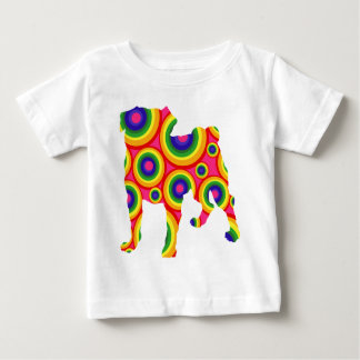 groovy pug.png baby T-Shirt