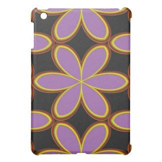 Groovy Purple Flower-Power  Case For The iPad Mini