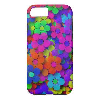 Groovy Rainbow Flowers iPhone 7 Case