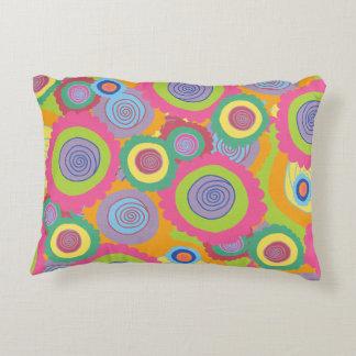 Groovy Rainbow Pillow Accent Pillow
