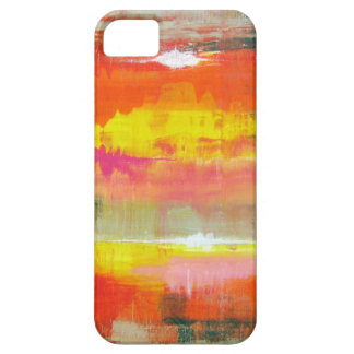 Groovy Red Orange Yellow Abstract No. 155 iPhone SE/5/5s Case
