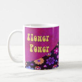 Groovy Retro Flower Power 60s 70s Mugs