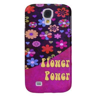 Groovy Retro Flower Power 60s 70s Samsung S4 Case