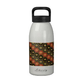 Groovy Retro Pattern Drinking Bottle