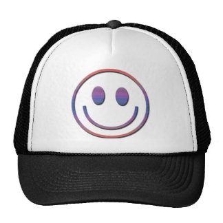 Groovy Retro Smiley Face Trucker Hat
