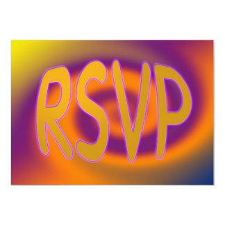 groovy RSVP Card