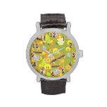Groovy Seventies Pattern Wrist Watch