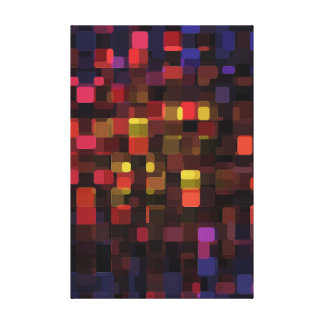 Groovy Shapes Canvas Print