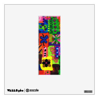 Groovy Sixties Collage Letter I Wall Decal