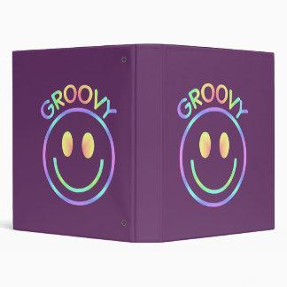 Groovy Smiley Notebook Binder