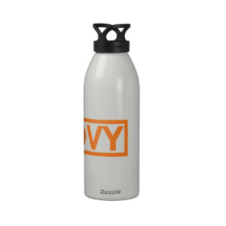 Groovy Stamp Reusable Water Bottle