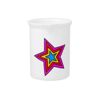 Groovy Star Drink Pitcher