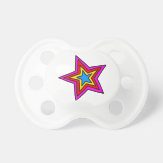 Groovy Star Pacifier