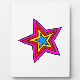 Groovy Star Plaque