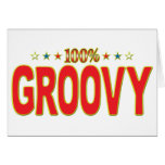 Groovy Star Tag Greeting Cards