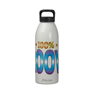 Groovy Star Tag v2 Water Bottles