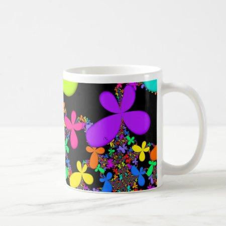 Groovy Summer Fractal Mug