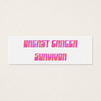 Groovy Survivor Bookmark Mini Business Card
