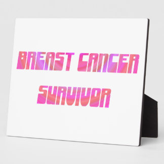 Groovy Survivor Plaque