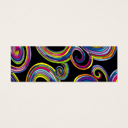 Groovy Swirls ~ Business Card