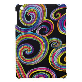 Groovy Swirls ~ iPad Mini Plastic Case iPad Mini Cases