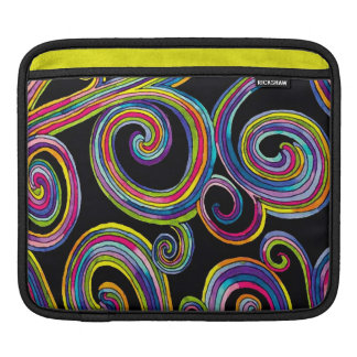 Groovy Swirls ~ iPad Sleeves
