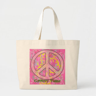 GROOVY TIMZ TOTES - PEACE SIGNS - FASHION - GIFTS