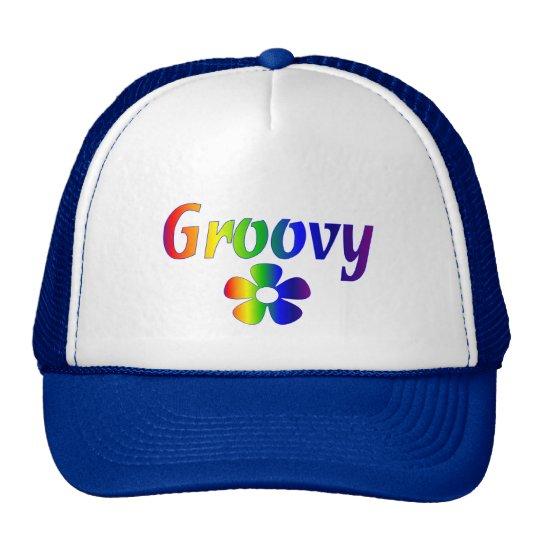 groovy trucker hat