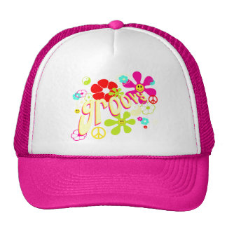 Groovy Vibe 70's Style Hats