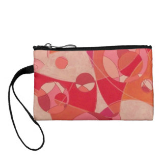 Groovy Vibe: Abstract Painting Purse