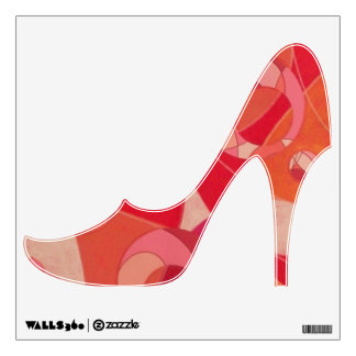 Groovy Vibe Shoe Decal