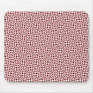 Groovy Weave Pattern Mouse Pad