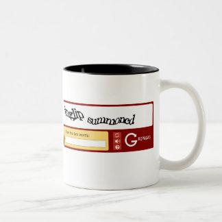 Gropaga and Inglip Summoned Two-Tone Coffee Mug