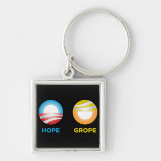 Grope Nope Keychain