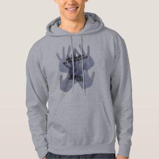 Groped Basic Hooded Sweatshirt